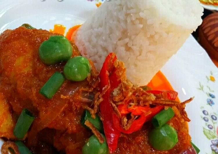 Ayam msk merah simply sedap' #MAHN - velavinkabakery.com