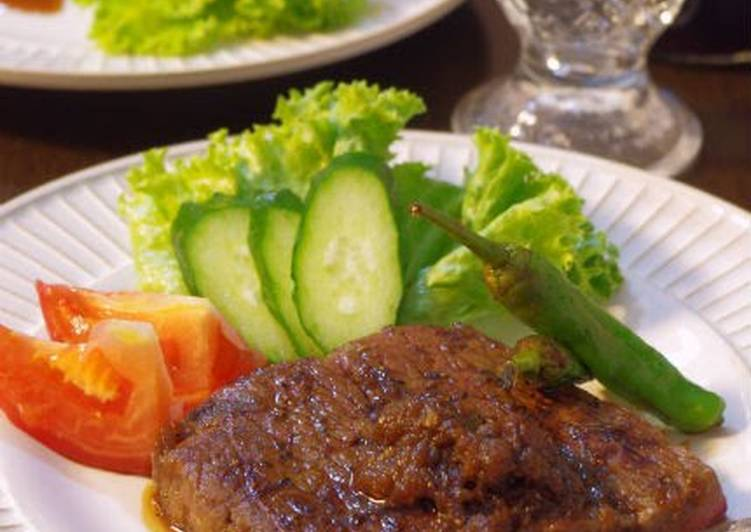 Beef Steak with Grated Onion Sauce, Coconut Oil Is A Wonderful Product And Can Also Be Advantageous For Your Health