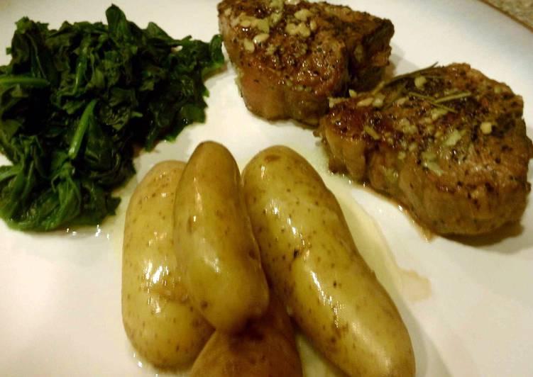 Recipe of Speedy Mint seared Lamb Chops