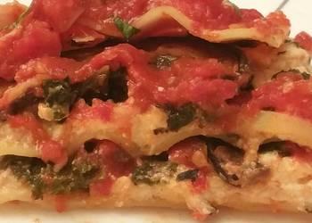 How to Make Tasty Kale and Portobello Lasagna