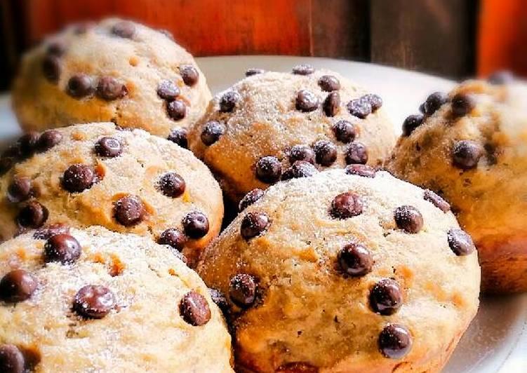 Muffin Pisang Gula Merah ~ Legit & Wangi.. 🍌
