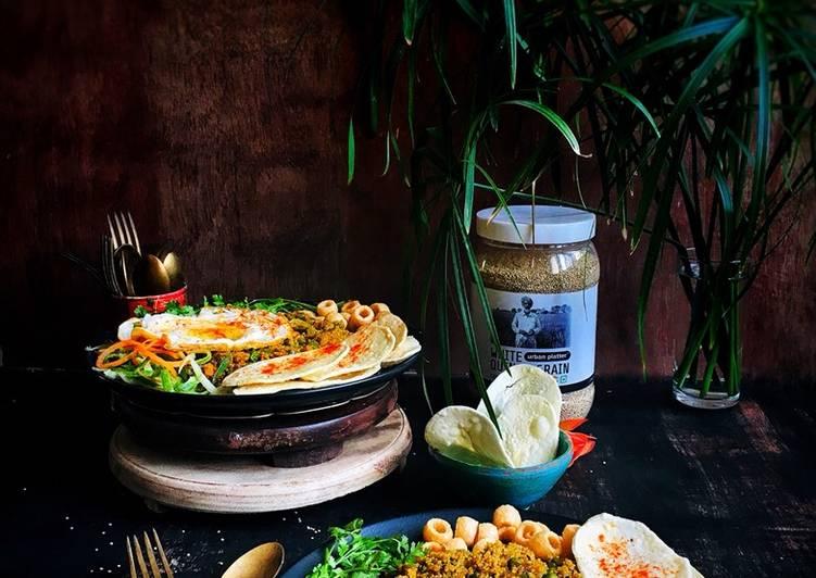Quinoa pulao..high protein breakfast