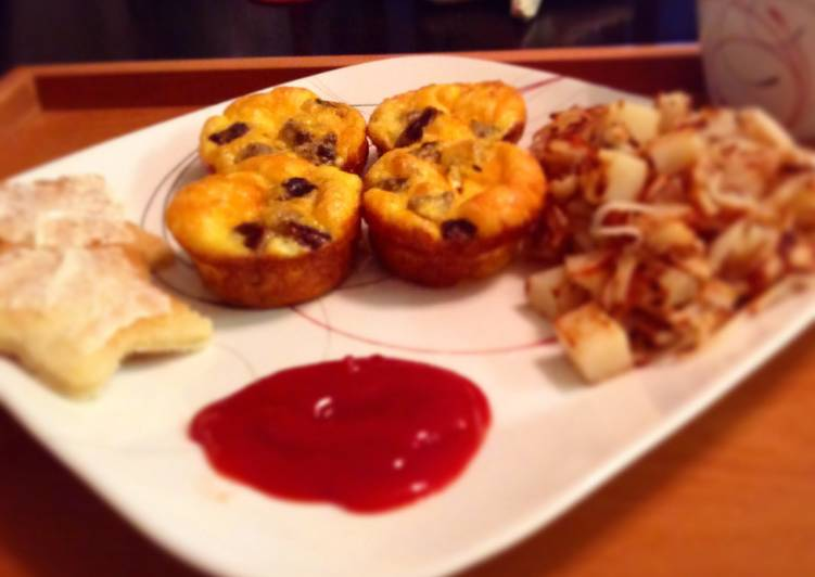 Recipe of Perfect Sausage Egg N Cheese Muffins Wifey Style
