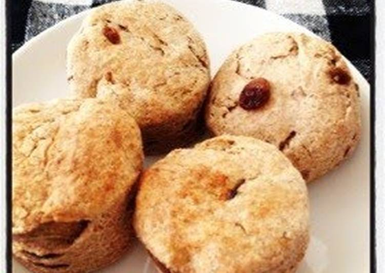 Easy! Macrobiotic-Style Whole Wheat Scones