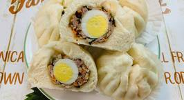 Hình ảnh món Bánh bao nhân thịt trứng cút