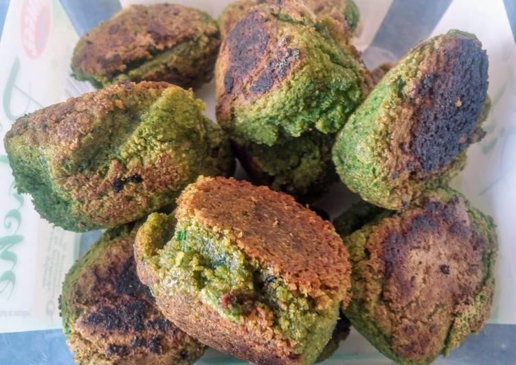 Falafels à la menthe et au persil (vegan)