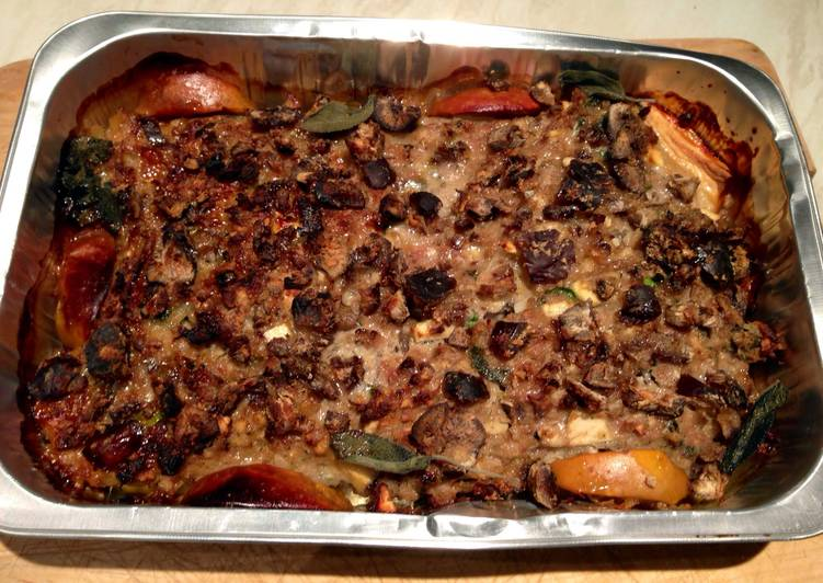 Easiest Way to Cook Appetizing Pork, Apple And Chestnut Stuffing