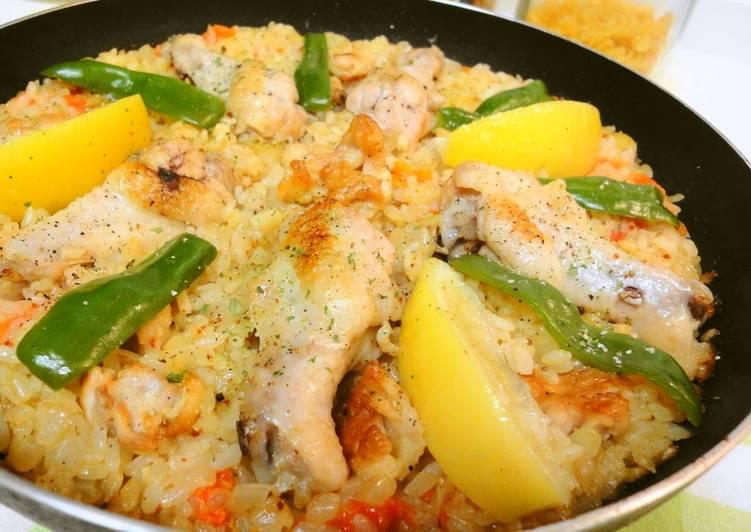Outdoor Cooking Recipe - Chicken Drumettes Paella