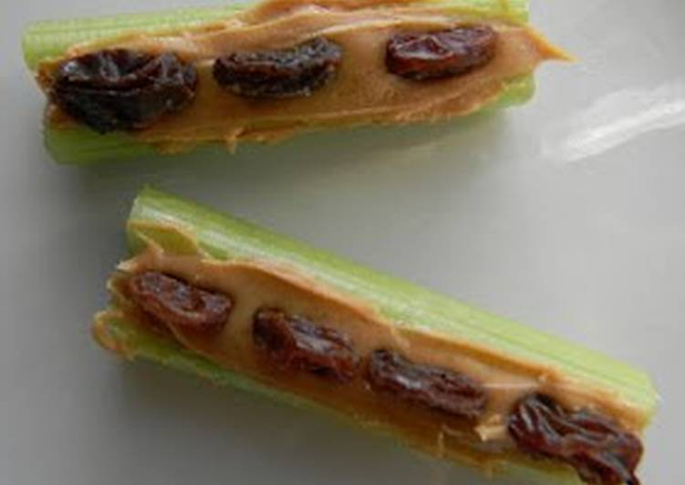 Ants On A Log Gluten Free Recipe By Stephiecancook Cookpad