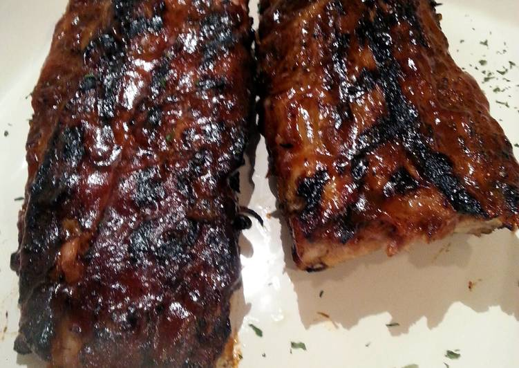 Chipotle Maple Smoked Ribs