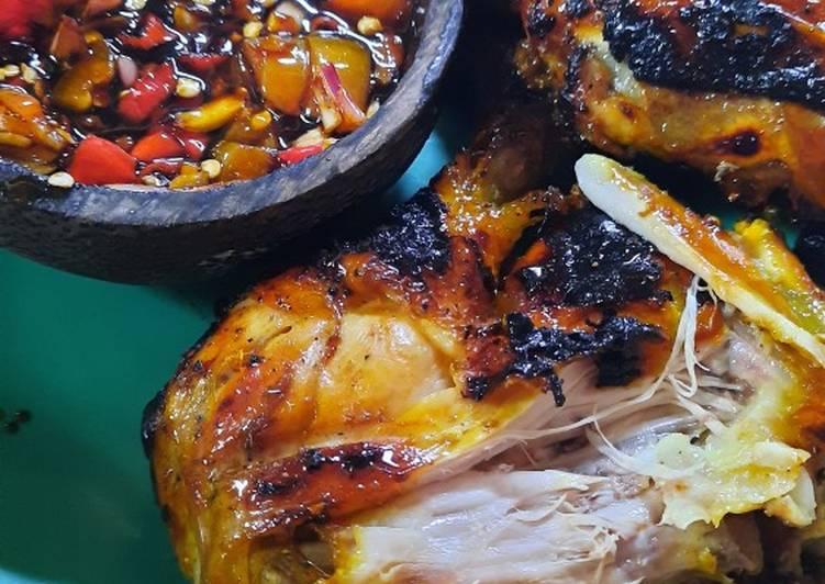 Ayam bakar tanpa santan