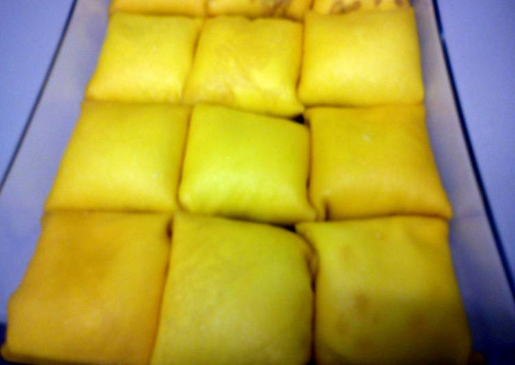 Easiest Way to Prepare Yummy Durian Crepe