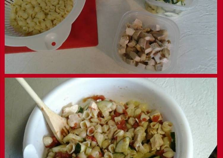 Recipe: Delicious Chicken Pasta Salad