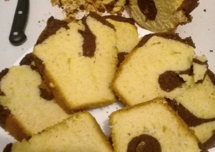 Easiest Way to Make Homemade Buttercake with vanilla & chocolate