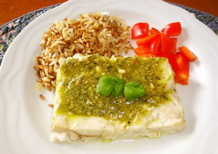 What is Dinner Ideas Winter Pesto alla Genovese For White Fish or Chicken Meat