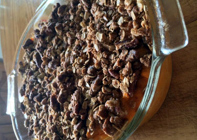 Healthier Sweet Potato Casserole