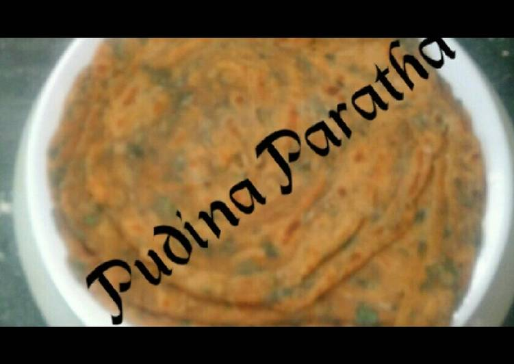 What is Dinner Ideas Quick Pudina paratha