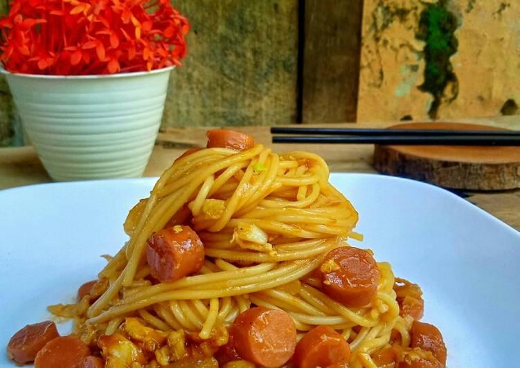 🌸 Spaghetti Saos Bolognese (La Fonte- Al Dente)