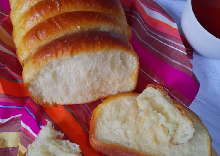 Roti Sisir Jadul (Lembut tanpa telur & mixer)