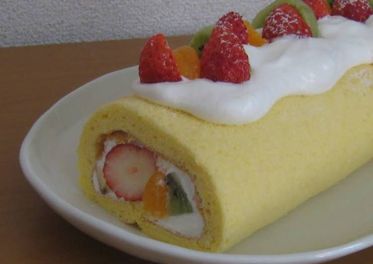 Living Greener for Greater Health By Eating Superfoods Easy Roll Cake Sponge Made with Rice Flour