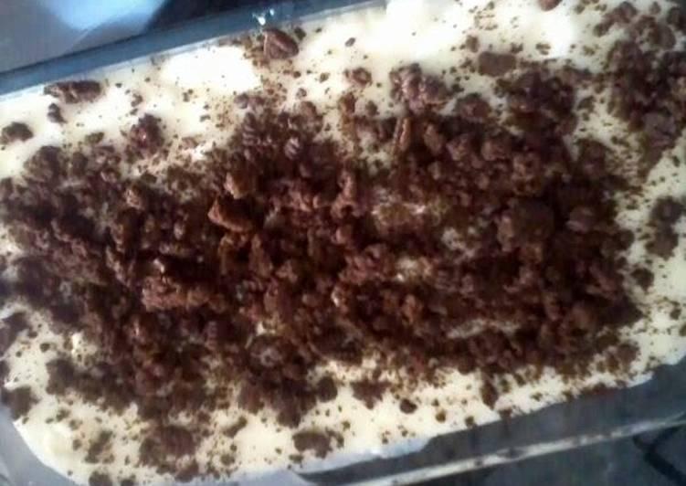 easy-quick vanilla pudding dessert