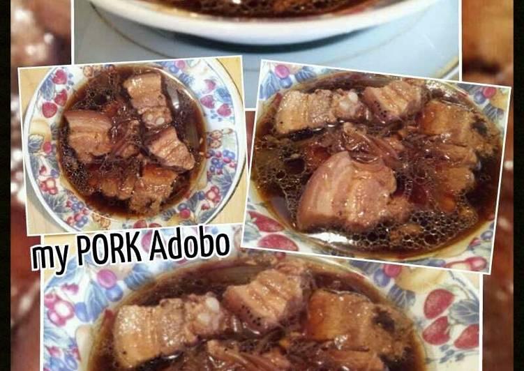 Recipe of Ultimate AMIEs PORK ADOBO