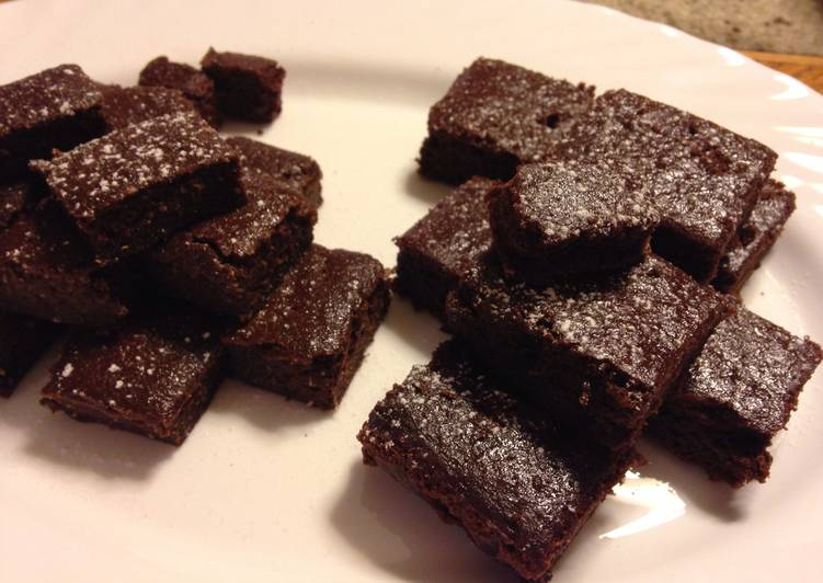 Easiest Way to Prepare Perfect Hclf Vegan Brownies
