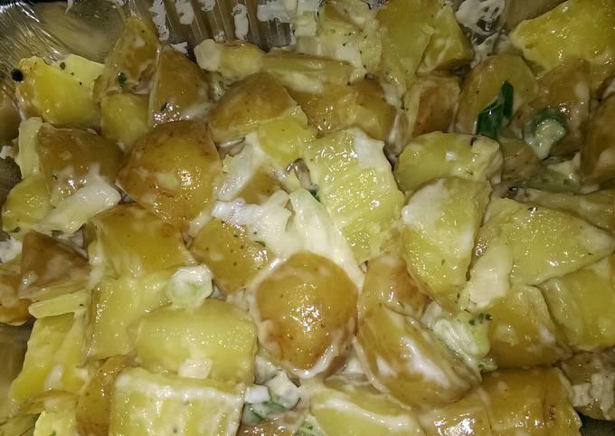 Mandys baby potato salad