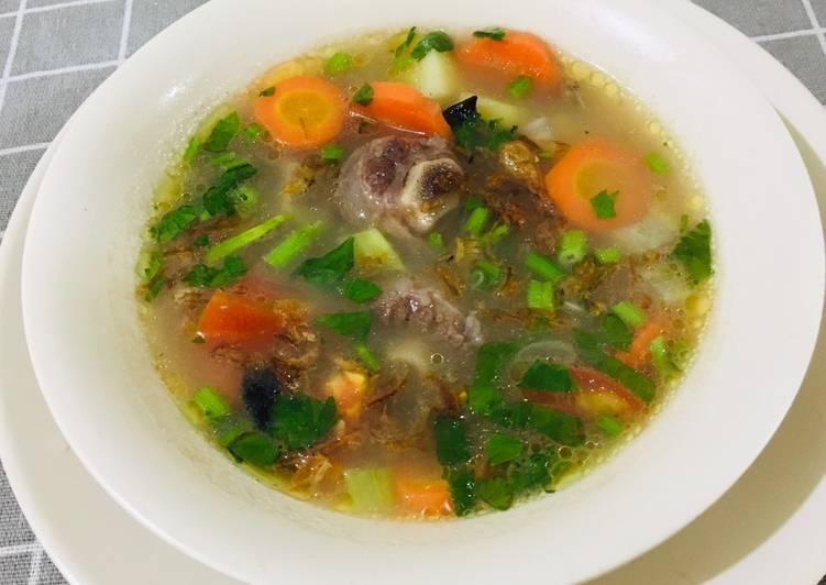 Resep Sop Buntut Ala Chef Turnip, Bikin Ngiler