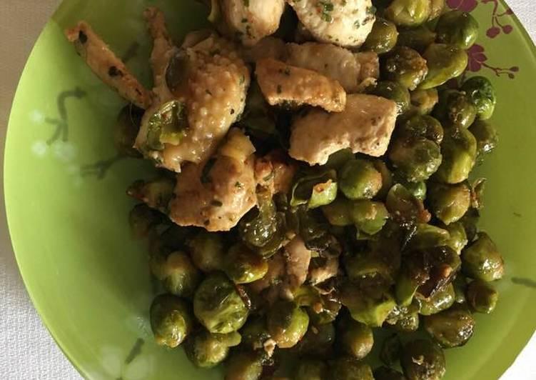 Recipe: Yummy Choux de Bruxelles au jus