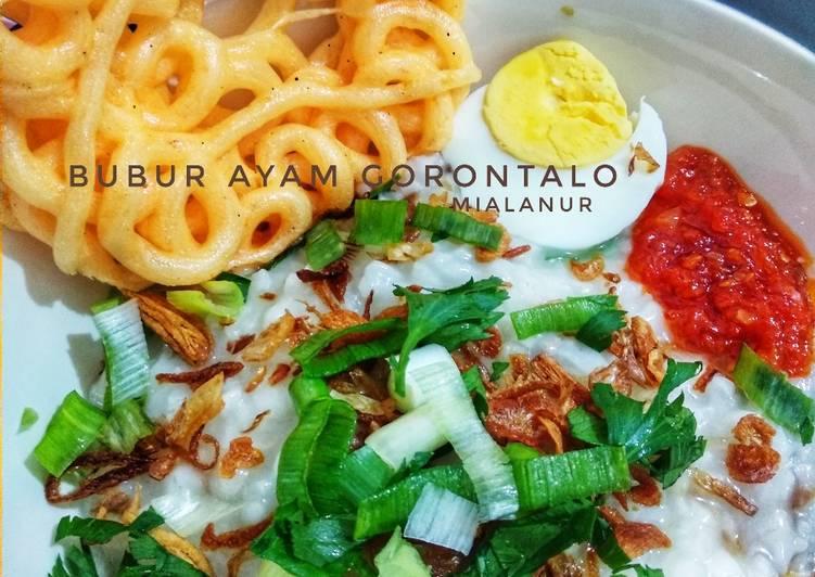 Resep Bubur Ayam Gorontalo, Lezat Sekali