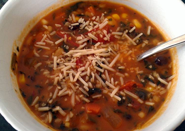 Recipe of Any-night-of-the-week polka dot soup