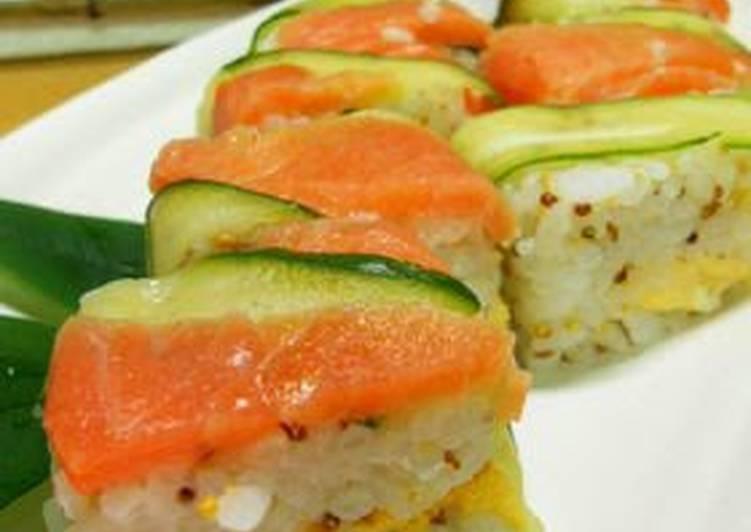 Western-style Oshi Sushi (Pressed Sushi)