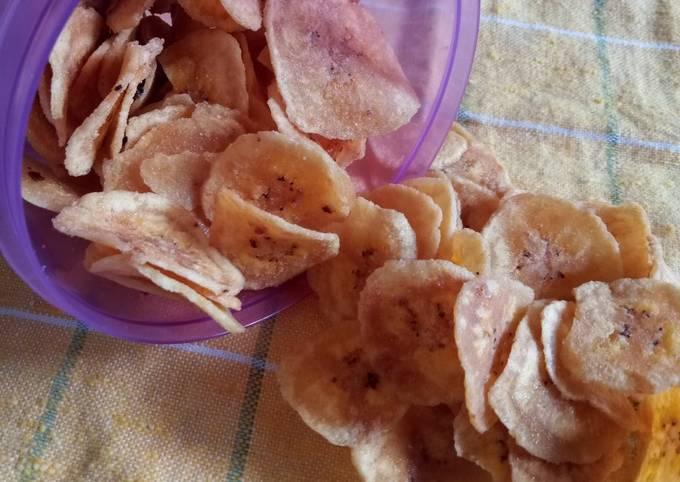 Keripik pisang dollar