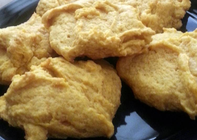 Pumpkin Vanilla Cookies - Laurie G Edwards