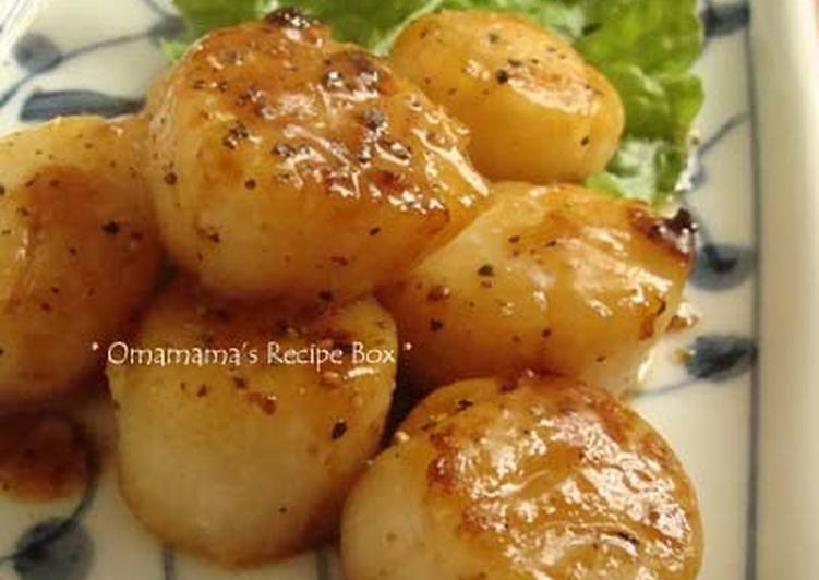 Buttered Scallops