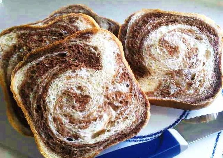 Easiest Way to Cook Appetizing Made in a Bread Machine! The Easiest Marbled Bread