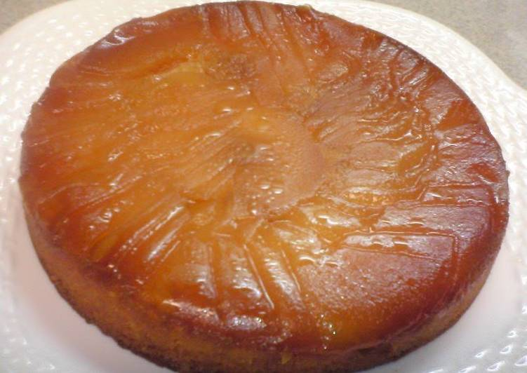 How to Prepare Yummy Exquisite Tart Tatin-style Apple Cake