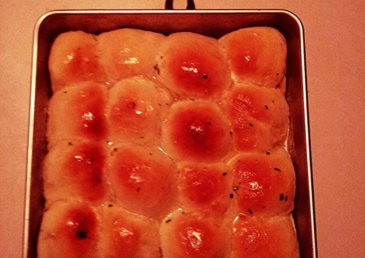 Simple Way to Make Perfect Bread Machine Recipe for Cheese Stuffed Garlic Rolls