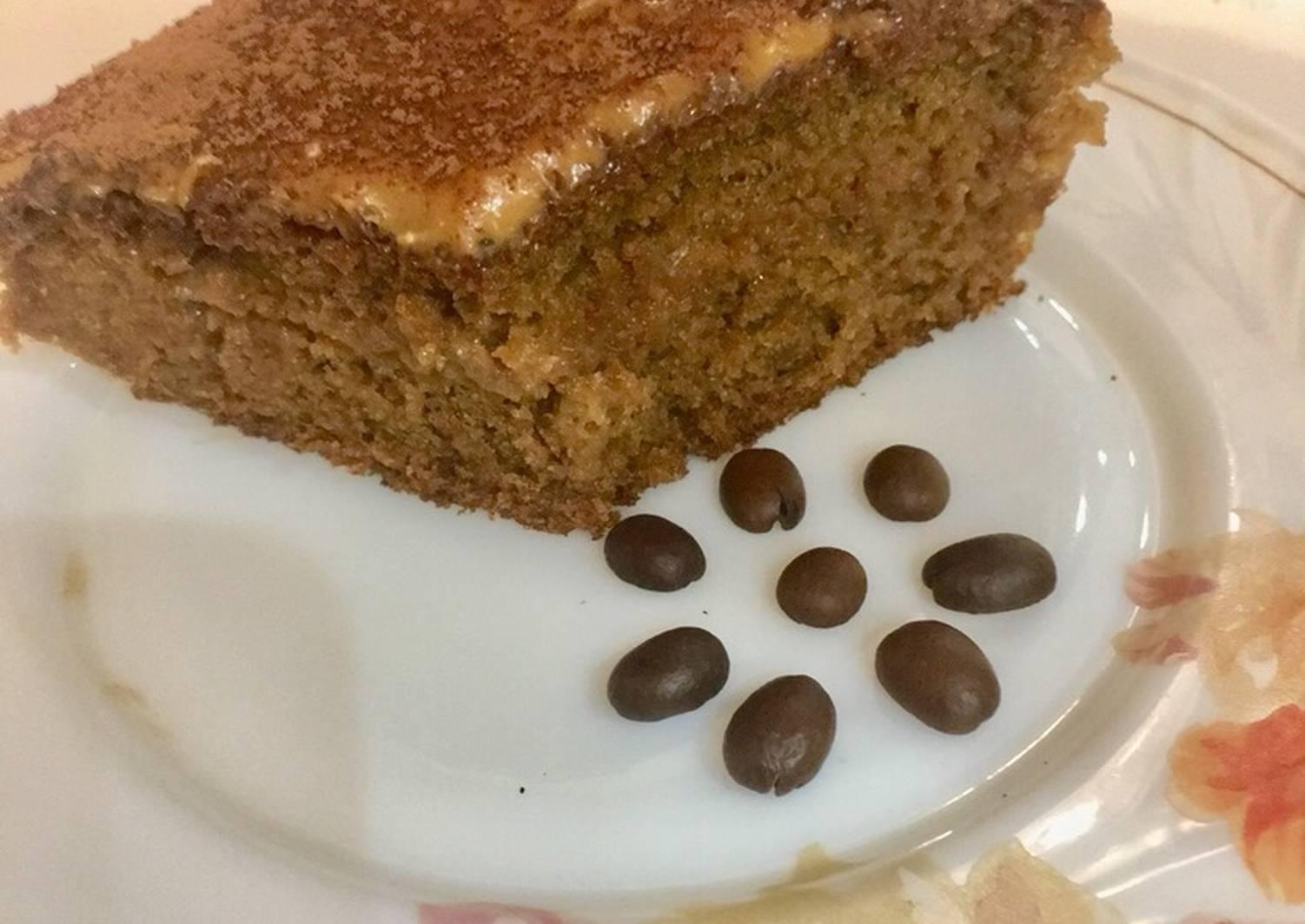 простой кофейный пирог рецепт с фото актера