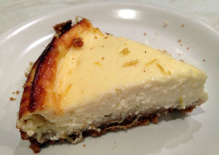 Use Food to Elevate Your Mood Lemon And Ginger Cheesecake