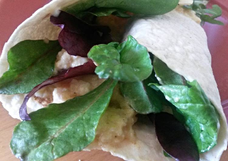 How to Prepare Sig's Cauliflower Wrap