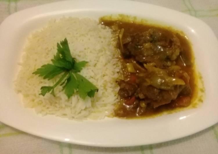 Wine beef stew
