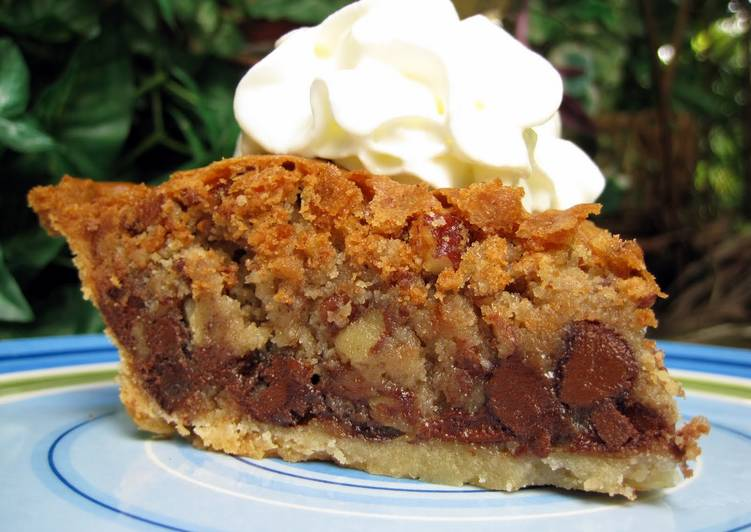 Simple Way to Make Homemade Chocolate chip pie
