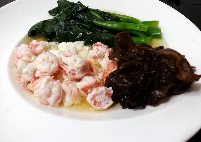 Shrimp With Egg White In Chinese Wine Sauce