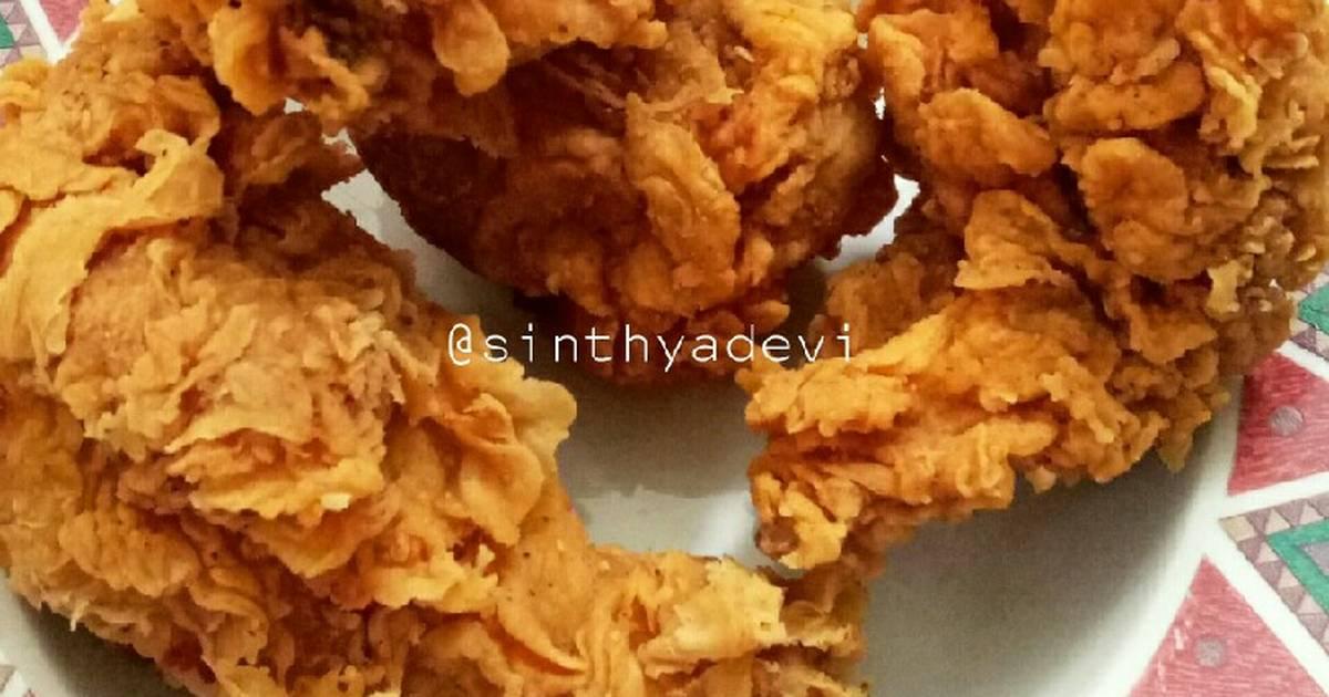 Kentucky Fried Chicken (anti gagal, Renyah + Crispy tahan 9 jam)