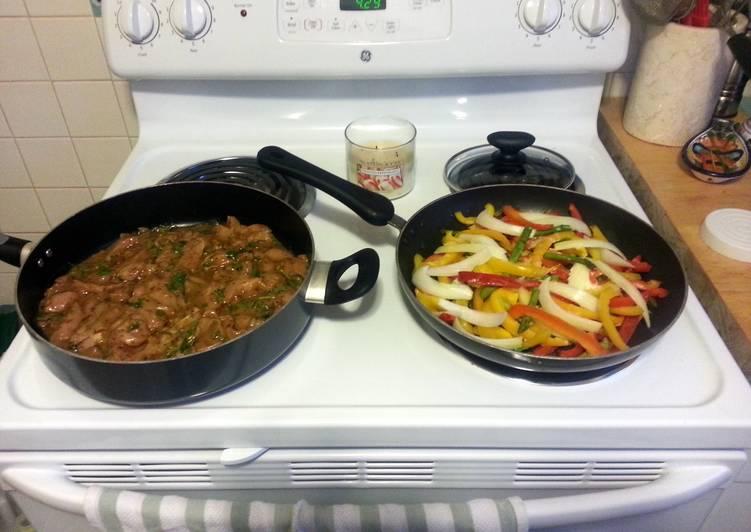 How to Prepare Tasty asparagus fajitas