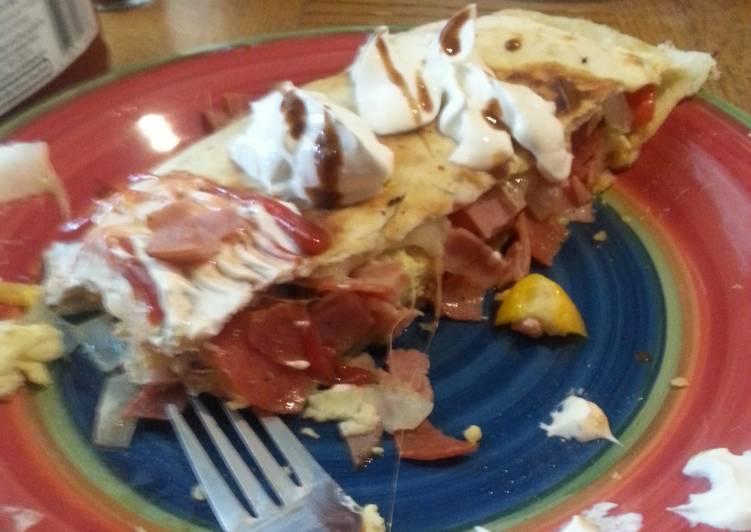 Recipe of Award-winning Breakfast quesadilla