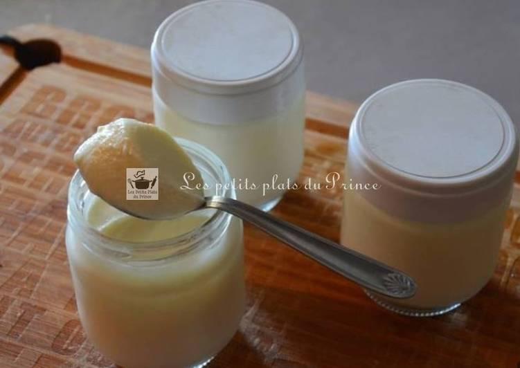 Yaourts vanille maison