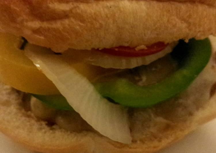 Easiest Way to Prepare Homemade Taco Burger
